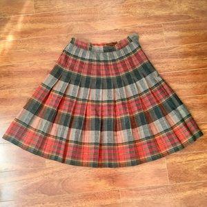 Vintage High Waist Circle Skirt